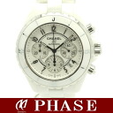 CHANEL H1007 J12 chronograph white ceramic /30496