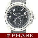 Cartier Cali bulldog do Cartier W7100041 SSx Boletopsis leucomelas belt men self-winding watch /31380