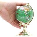 天然石材金球奖] 到手工制作的天然石材与蛋黄酱的礼物宝石地球仪的