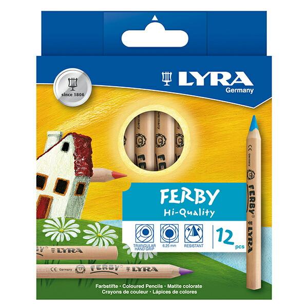 LYRA/ファルビーシリーズ 白木の軸(12色)
