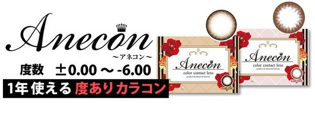 Anecon 1年使える度ありカラコン