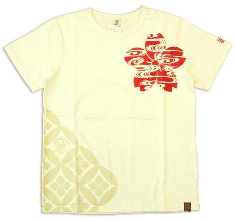 樱花刺绣日本模式男式衬衫