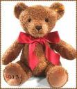 Steiff cosy bear 2013 シュタイフコージーイヤーベア United Kingdom Edition