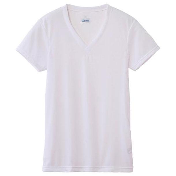 ミズノ c2ja610302 MIZUNO ドライベクターエブリ Vネック半袖シャツ 大きいサイズ アンダーウエア C2JA6103