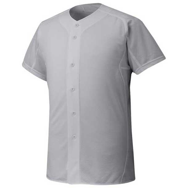 『ミズノプロ』シャツ/オープンタイプ 野球 05グレー MIZUNO ミズノ ウエア ユニフォームシャツ 12JC6F0105 野球ウエア