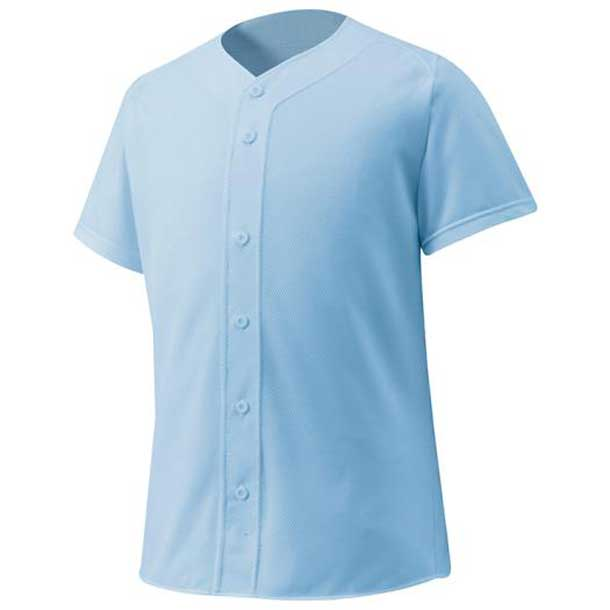 シャツ/オープンタイプ 野球 21スカイブルー MIZUNO ミズノ ウエア ユニフォームシャツ 12JC6F4021 野球ウエア