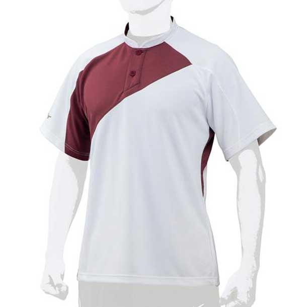 ミズノ MIZUNO 12jc7l0163 野球ウエア ミズノプロ ベースボールシャツ/侍ジャパンモデル 野球 ウエア ベースボールシャツ 12JC7L01