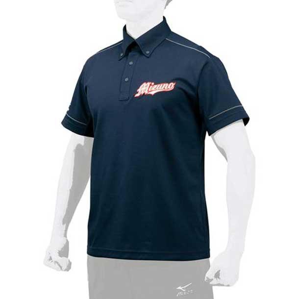 ポロシャツ MIZUNO ミズノ 野球 ウエア ベースボールシャツ 12JC7H11 12jc7h1114 野球ウエア