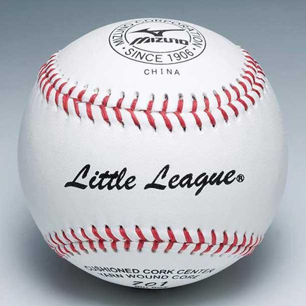 MIZUNO 1bjbl70100 ミズノ 野球ボール 少年硬式用/リトルリーグ701 試合球 1ダース 野球 ボール 少年硬式用/試合球