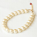 ★ SALE ★ all 4 sizes (6 mm/8 mm / 10 mm / 12 mm) set of Kiska cotton Pearl K14GF (gold filled) bracelet 10P30Nov13