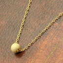 ★ SALE ★ 5 mm Stardust Flash ball necklace fs3gm K14GF (gold filled)