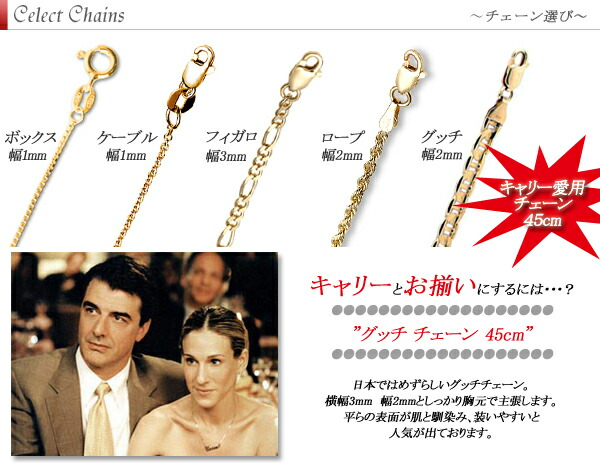 Money of セックスアンドザシティ (Sex and the City) SATC carry Sarah Jessica Parker 10K,14K, 10 14-karat gold necklace diamond name jewelry free shipping