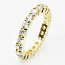 3 mm FL eternity CZ diamond ( cubic zirconia ) ( ring ) gold ring 10P30Nov13