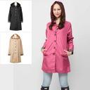 Mac convertible collar coat beige / black / pink because because coupons