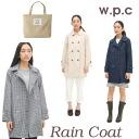 w.p.c Mac Standard Navy / beige / gingham (Kappa rain repellent water women's rainwear fashionable wpc World Party)