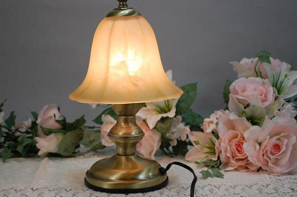 Shop Planta  라쿠텐 일본: 골동품 램프 테이블 램프 연기로 구운 ...