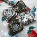Necklace Alice in Wonderland motif Art Nouveau Gothic heart labyrinth angel watch free shipping with the 2 for 5,000 yen