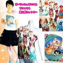 Tshirt Pretty garfish Risch animal tops chiffon translucency fashion forest girl kitten rabbit