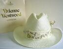 ◆ Vivienne Westwood ◆ Vivienne Westwood ★ limited ☆ straw Oversized Straw Cowboy Hat, cowboy hat (Beige)