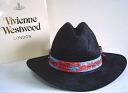 ◆ Vivienne Westwood ◆ Vivienne Westwood ★ limited ☆ straw Oversized Straw Cowboy Hat, cowboy hat ( Black )