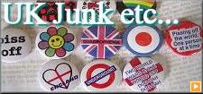 UK��JUNK�� Can Badge Earings ETC��
