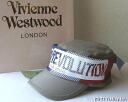 ◆ Vivienne Westwood ◆ Vivienne Westwood ★ AR Millitery Climate Cap limited ☆ AR military army Cap (BL/Red) by world's end