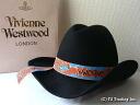 ◆ Vivienne Westwood ◆ Vivienne Westwood ★ Felt Cowboy Hat limited ☆ felt cowboy hat ( Black )