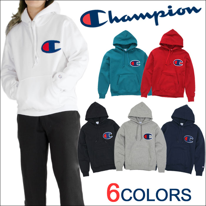 PLAYERZ | Rakuten Global Market: Champion big logo Hoodie pullover ...