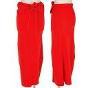 Issey Miyake ISSEY MIYAKE-POC Orange roll skirt Orange 2