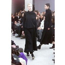 Comme des garcons COMME des GARCONS knit see-through reshuffling flare skirt black M