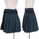 Tricot Comme des Garçons tricot COMME des GARCONS wanshoulderlap pleated skirt green blue red M place