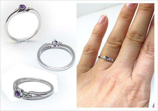 指輪 アメジスト リング