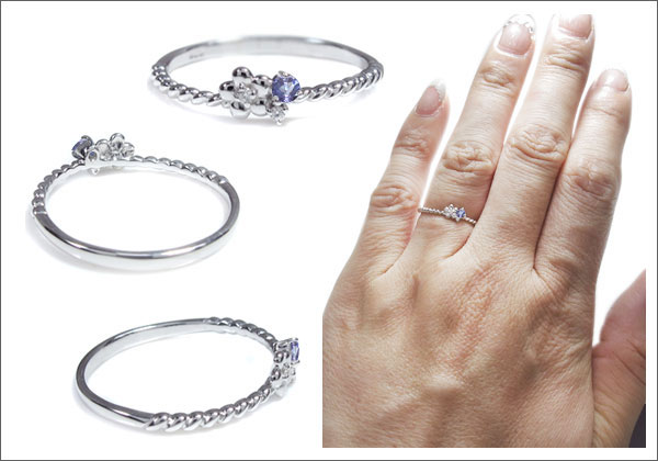 フラワー,花,指輪