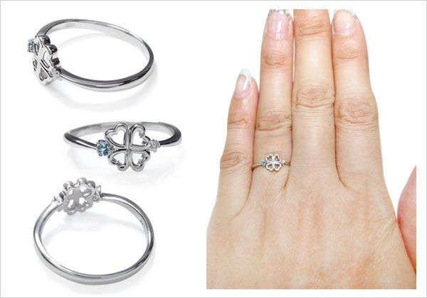 華奢,指輪,天然石