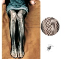 Super sexy fit floral NET tights ☆ party dress wedding, 3 pattern tights vertical line stockings pantyhose legs ◎ order today 2/2 will ship