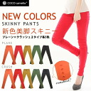 COCO camellia stretch beauty legs skinny — pants ◎ order today will ship 1/22