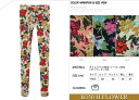 [JN] hibiscus / flower pattern tropical print regions-spats skinny dance outfit room wear leg pain General spring and summer: order today will ship 4/20
