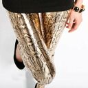I am going to ship it on order about January 29 snake pattern leggings ☆ metallic ♪ bottom / underwear / spats ◎ today with the impact