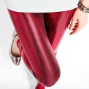 Metallic color ☆ beauty legs leggings / bottoms / pants and spats ◎ order today will ship 12/24