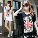 I am going to ship it on order about May 7 Union Jack, short sleeves T-shirt tunic tops ◎ today