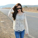 Clocher lace see-through long sleeves sewn ◎ order today will ship 11/25