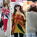 I am going to ship it on order about May 8 ◎ today with Union Jack, long sleeves cut-and-sew tunic ☆ embroidery line