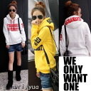 Clearance sale! I am going to ship it on order about August 8 logo parka trainer tops / by color ◎ today