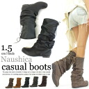 I am going to ship it on order about April 30 ナウシカブーツ / middle length / くしゅくしゅ boots ◎ today with Buckley's up of sloppy form