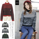 I am going to ship it on order about March 31 MIX jacquard turtle knit tops sweater ◎ today