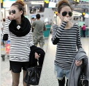I am going to ship it on order about August 27 / horizontal stripe ◎ today with the tops / long sleeves / elbow expectation