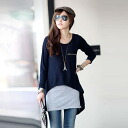 Talcott long sleeve shirt x tank top set tunic ◎ order today will ship 6/24