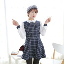 I am going to ship it on order about May 21 flare one piece tunic ◎ today with checked pattern, long sleeves, the collar