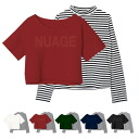 I mix-and-match it by the design that horizontal stripe high neck TOPS diver type push logo TSET, a lei yard item is casual and am going to ship it on order about October 3 preeminence ◎ today