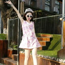 I am going to ship it on order about September 10 pastel-like, no sleeve tunic one piece browsing design ◎ today